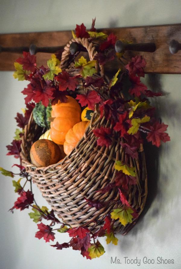 DIY Hanging Door Basket: An Easy Way To Add Some Fall Color To Your Door U2026