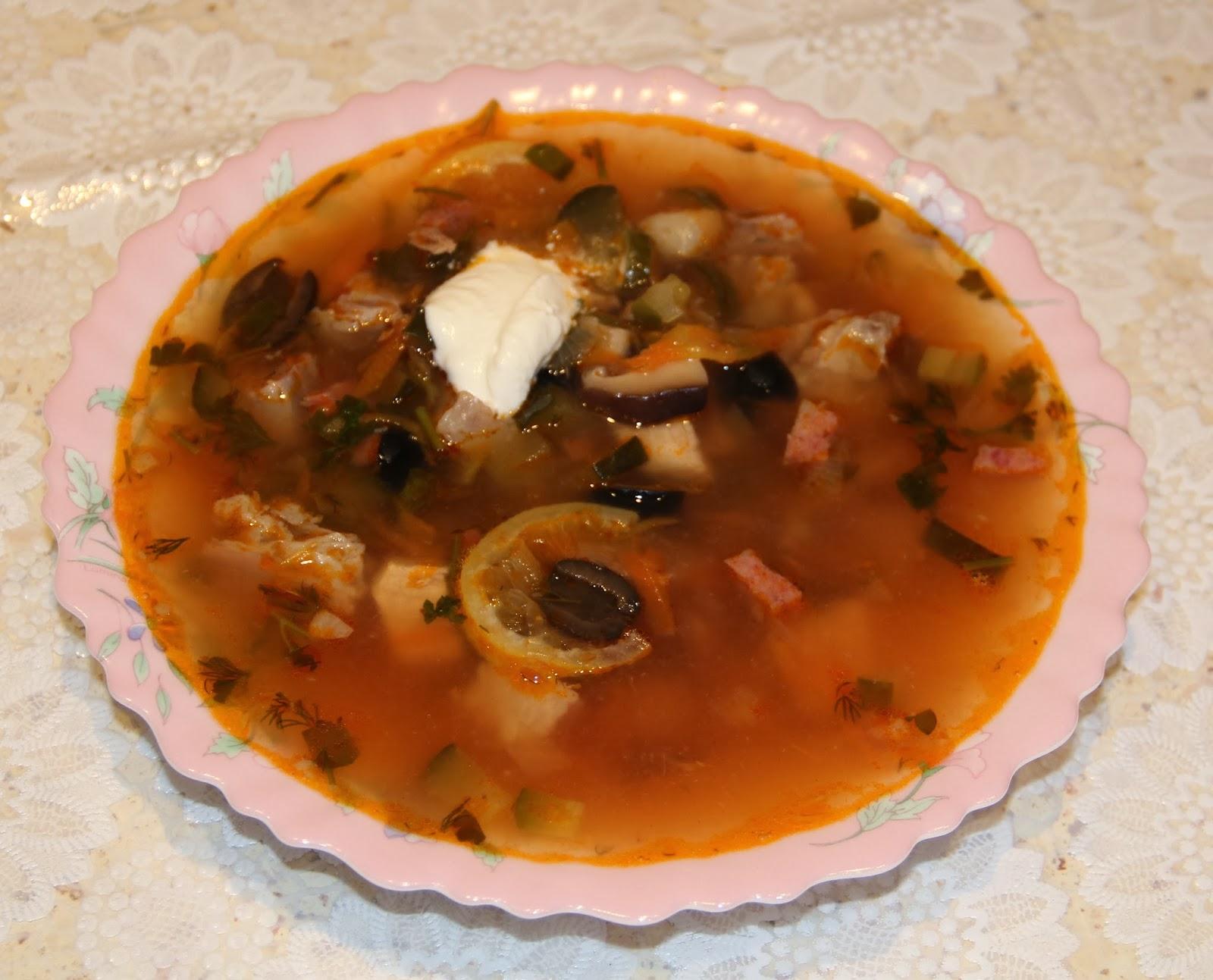 Простой рецепт мясной солянки пошагово с фото
