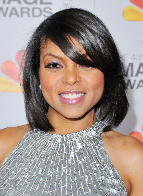 Short Bob Hairstyles for African American Women with Bangs