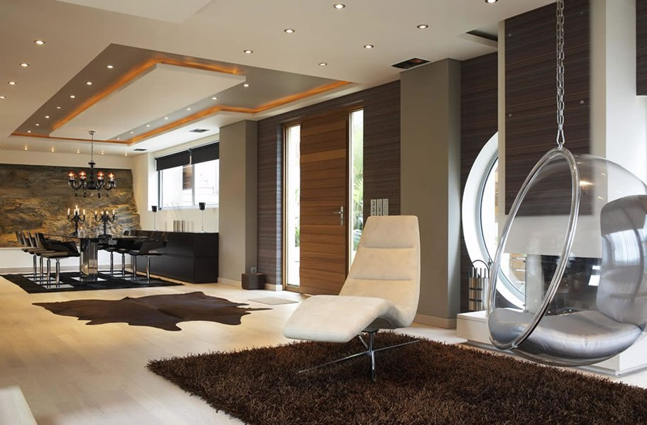 Modern villa greece most beautiful houses in the world - Modern villa interieur ...