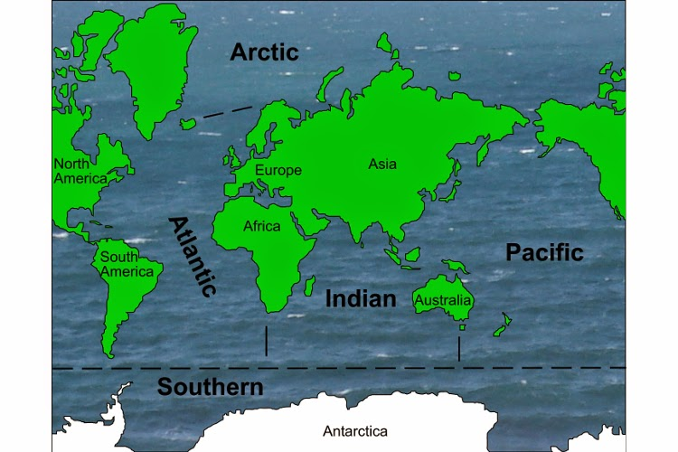 Sri EShopping The Great Oceans - All 5 oceans