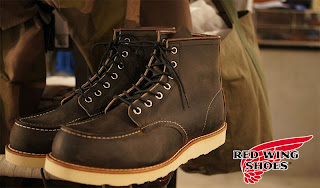 "RED WING 8890  ""6 MOC TOE""   CHARCOAL ROUGH&TOUGH"
