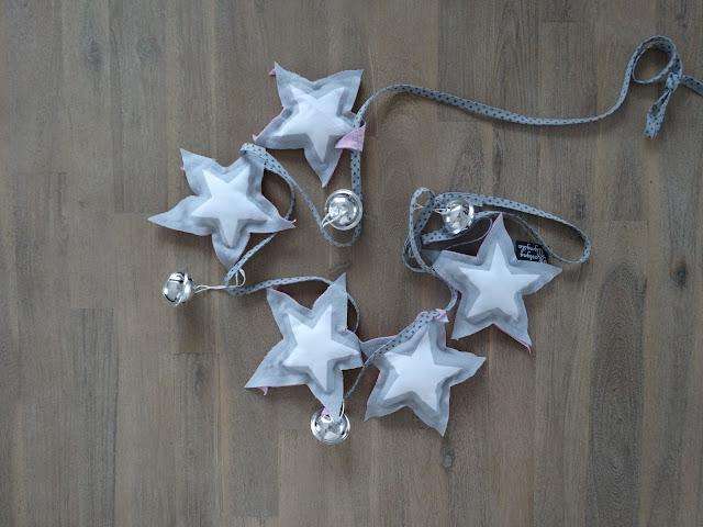 girland z gwiazdkami