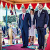 King Abdullah of Jordan and Queen Rania visit Morocco