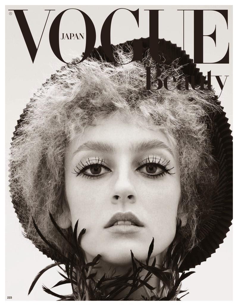 Model @ Lili Sumner - Vogue Japan May 2015