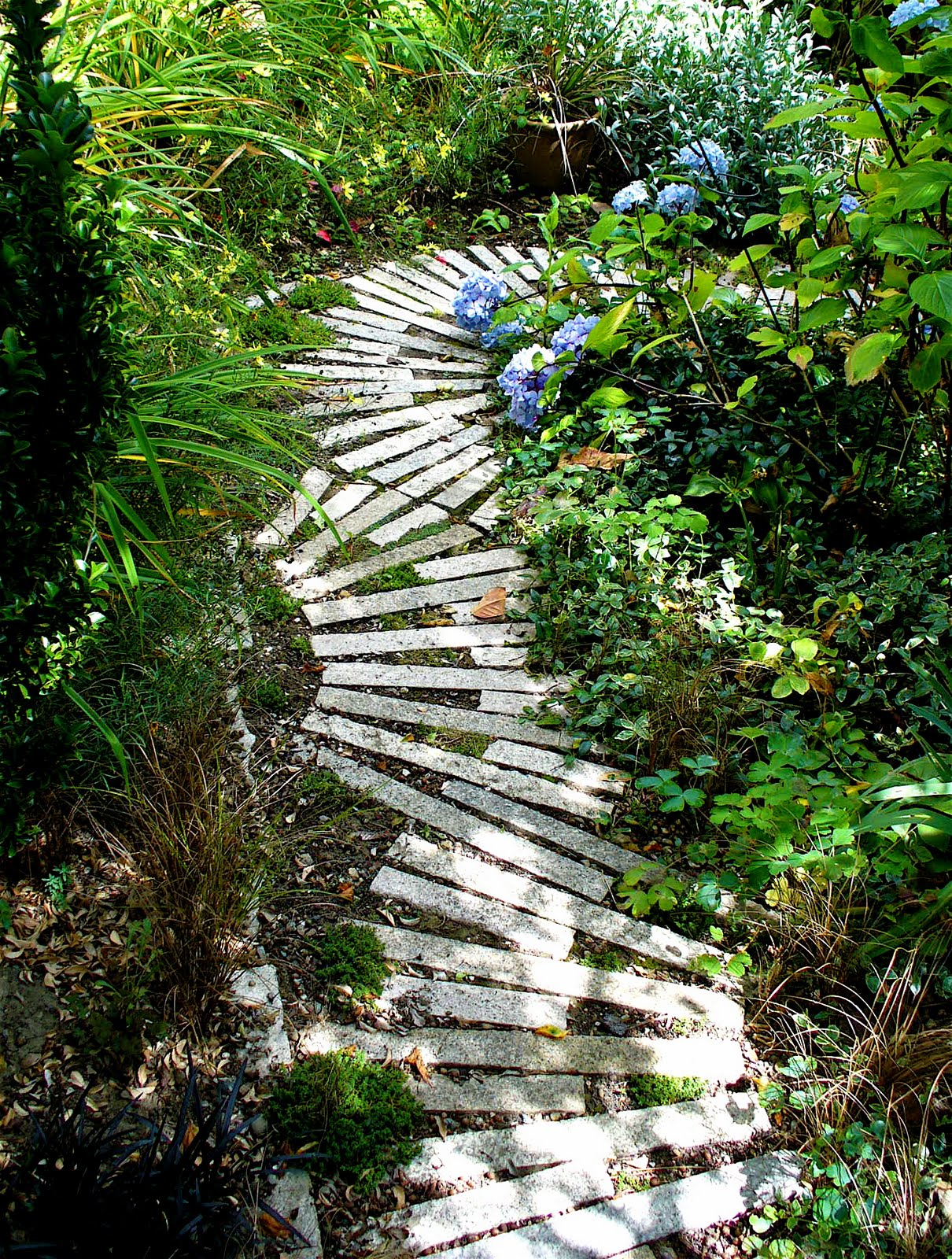 Alt build blog the garden path for Garden path ideas