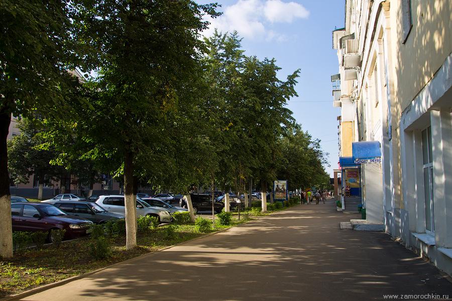 Саранск, проспект Ленина, 1, тенистая аллея