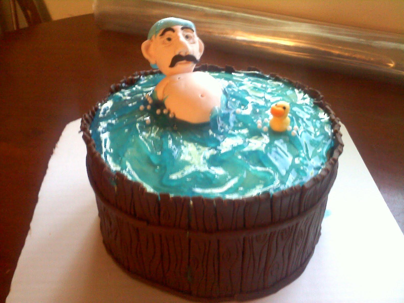 Hot Tub Cake Designs