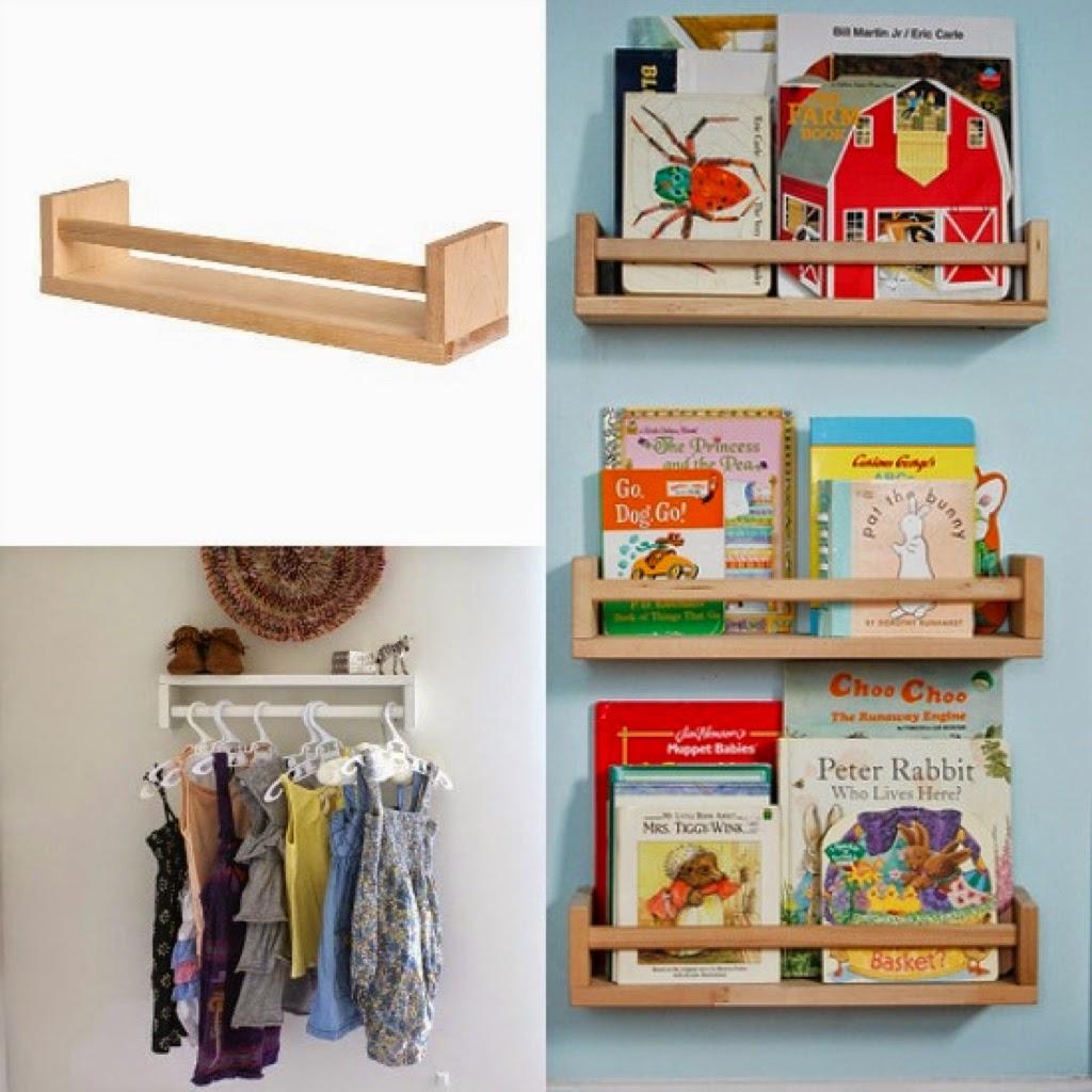 Una mama arquitecta almacenaje de libros diy con especieros ikea - Ikea estanterias libros ...