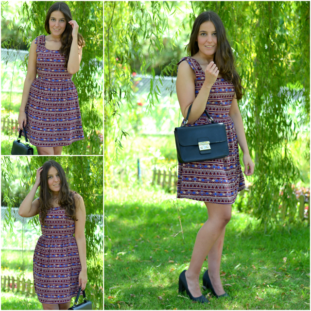 vestido lucloset, shoespiel bag, leefties heels