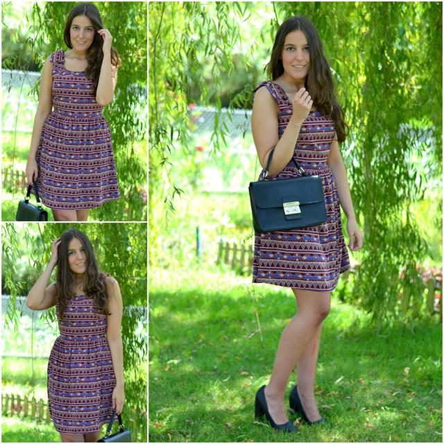 vestido lucloset, shoespiel bag, leefties heels