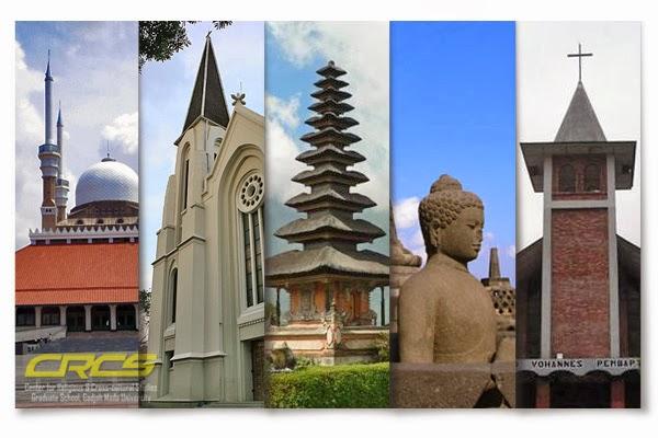 Berikut adalah Agama yang ada dan diakui di Indonesia :