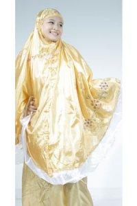 Mukena Abutai - Kuning (Toko Jilbab dan Busana Muslimah Terbaru)