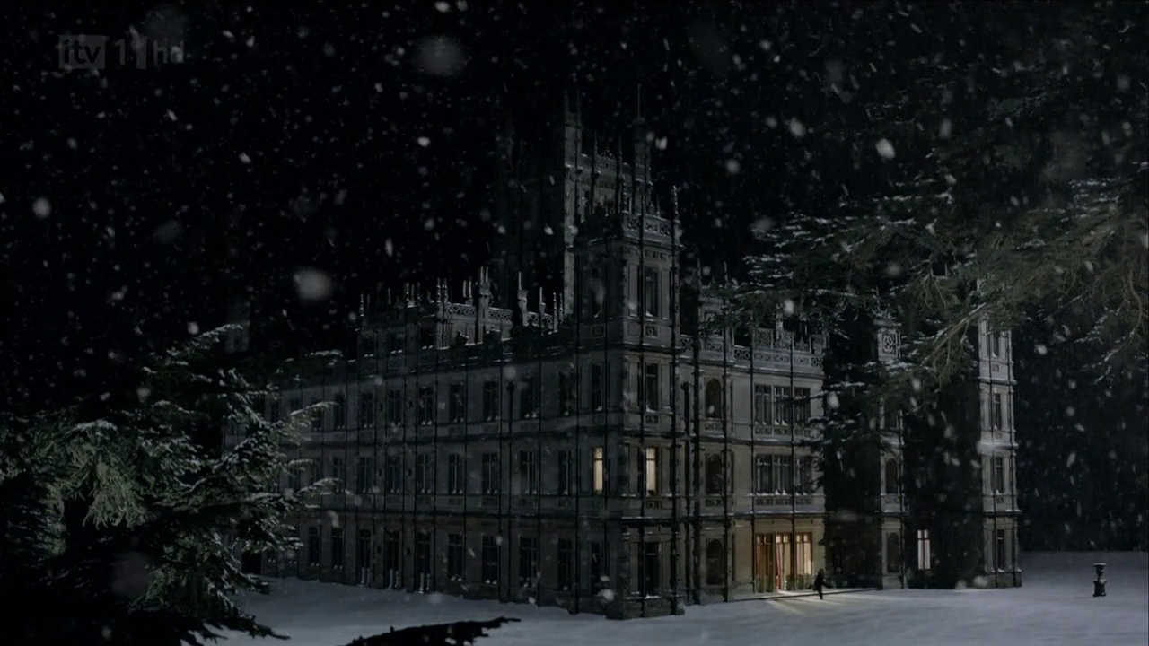 Christmas at Downton | Words in the Kitchen Sink