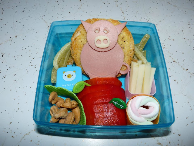 pig bento lunch