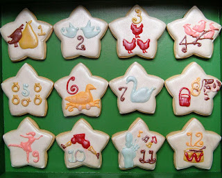 12 Days Of Christmas Cookies House Cookies
