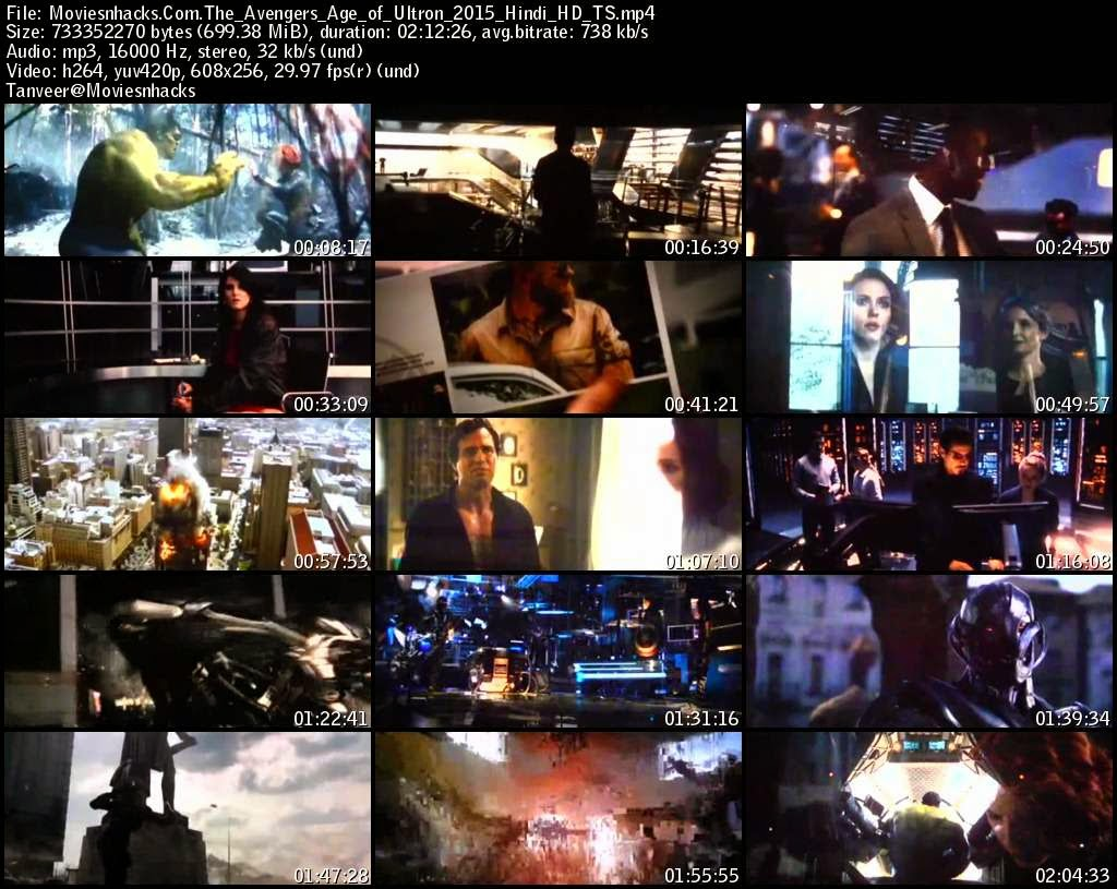 Avengers: Age of Ultron (2015) Hindi Dubbed HDTS