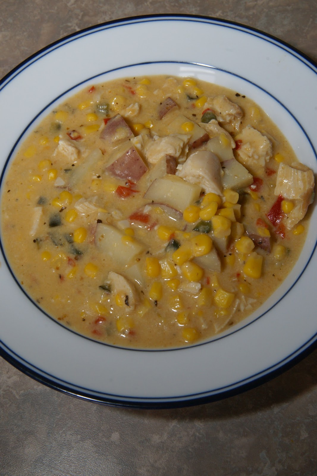 Savory Sweet and Satisfying: Chipotle Chicken and Corn Chowder