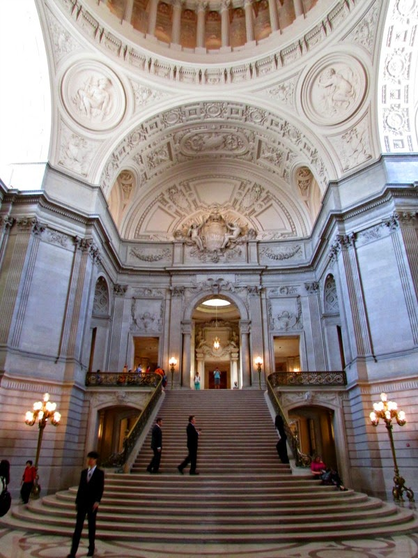 San Francisco City Hall // Rotunda Stairs