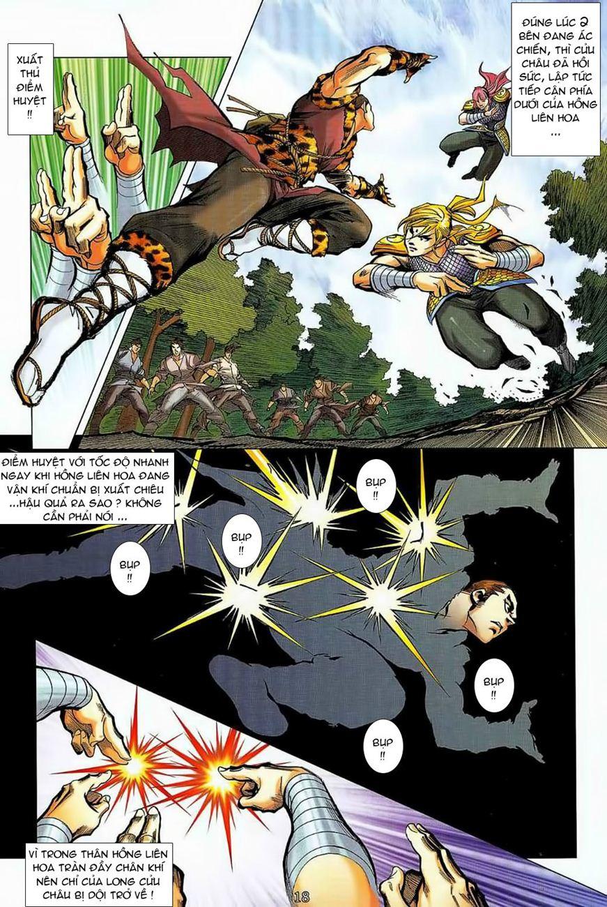 Thần Chưởng Long Cửu Châu chap 8 - Trang 18