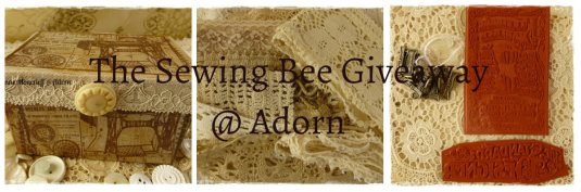 The Sewing Bee Giveaway @ ADORN