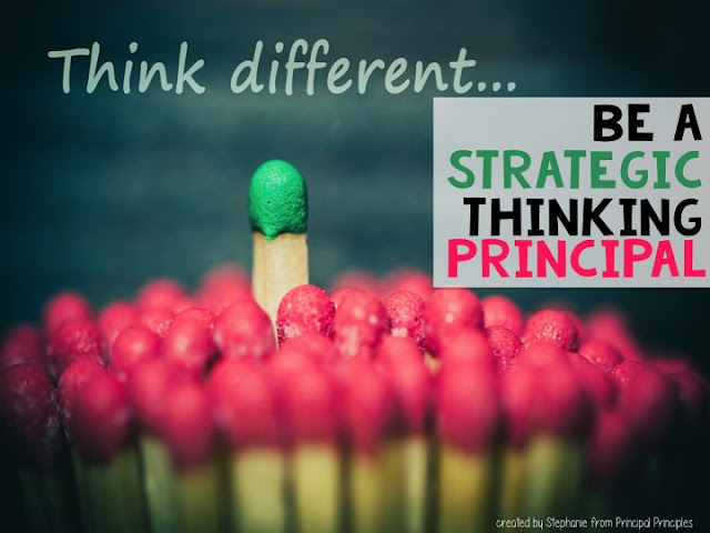 Teachers need principals who are organized and prepped.  A principal who puts students first.  Someone who knows how to build effective relationships with the staff.