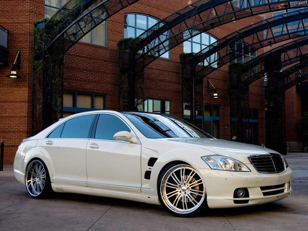 mercedes benz s class w221 on breden wheels benztuning