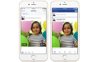 Ứng dụng Facebook cập nhật tính năng tải ảnh Live Photos trực tiếp trên iOS