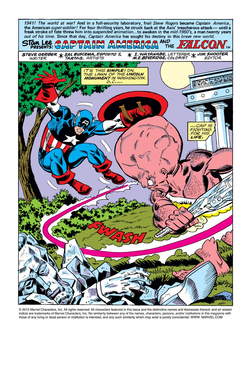 Captain America (1968) Issue #223 #137 - English 2