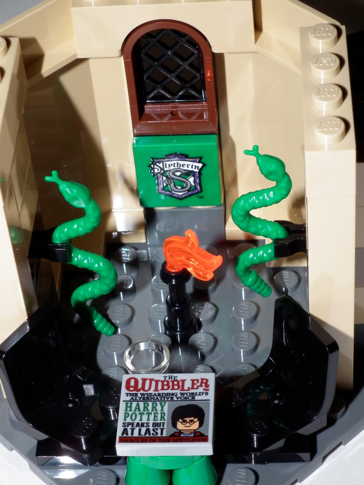 Sci Fi Fan Letter Lego Harry Potter Castle