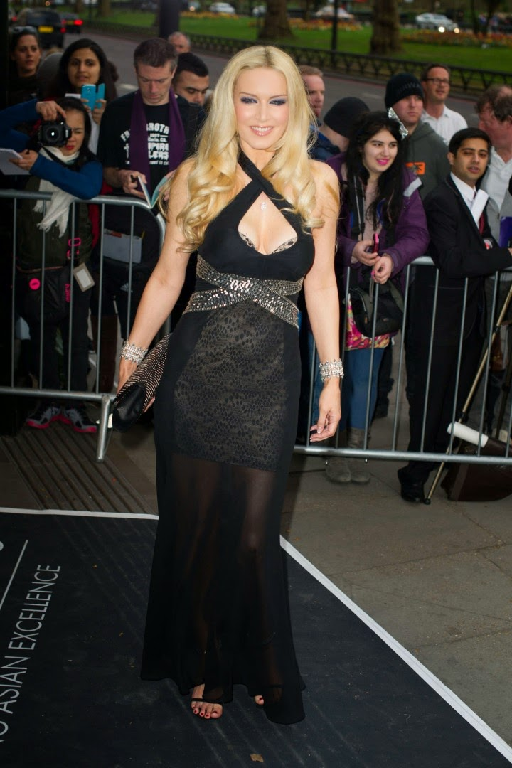 Emma Noble - 2014 Asian Awards in London