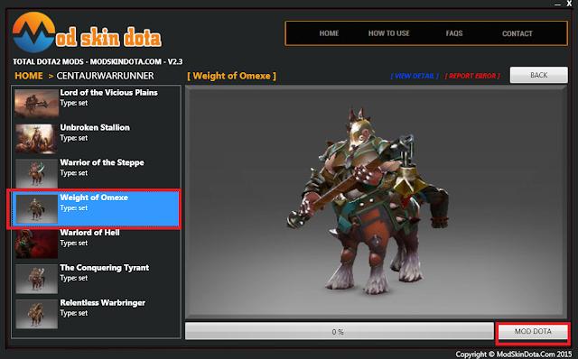 Centaur Warrunner Weight of Omexe