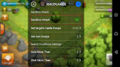 3 Bintang COC dengan XModGames