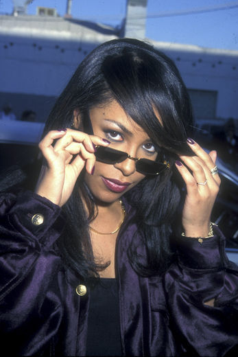 ... vision of beauty and so at peace, and it shows. We miss you, Aaliyah