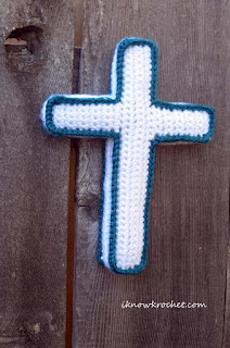 plush cross crochet pattern