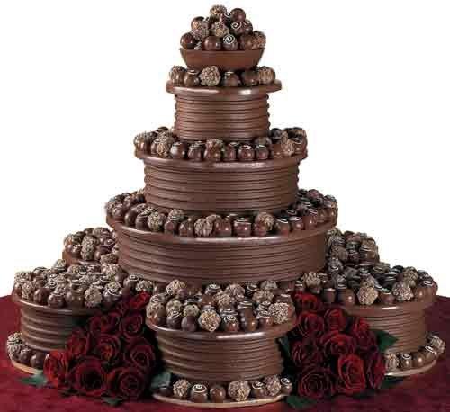Chocolate Wedding Cakes Chocolate Cake Wedding