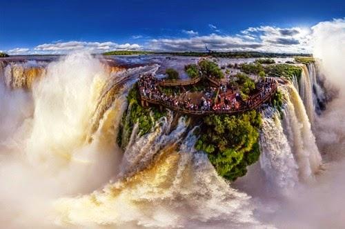Where is Iguazu Falls