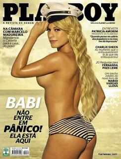 Ver Fotos Babi Panicat Na Playboy De Abril