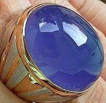 Ciri-ciri Batu Lavender Baturaja (Batu Spiritus)