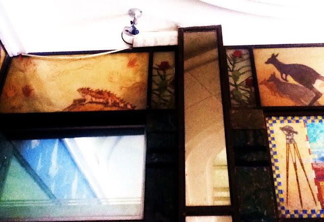 Gleddon Arcade Fauna and Flora Artwork