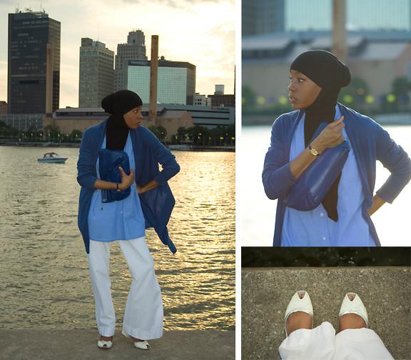 ملابس محجبات2013 - إستايللات عصرية لملابس المحجبات 2013