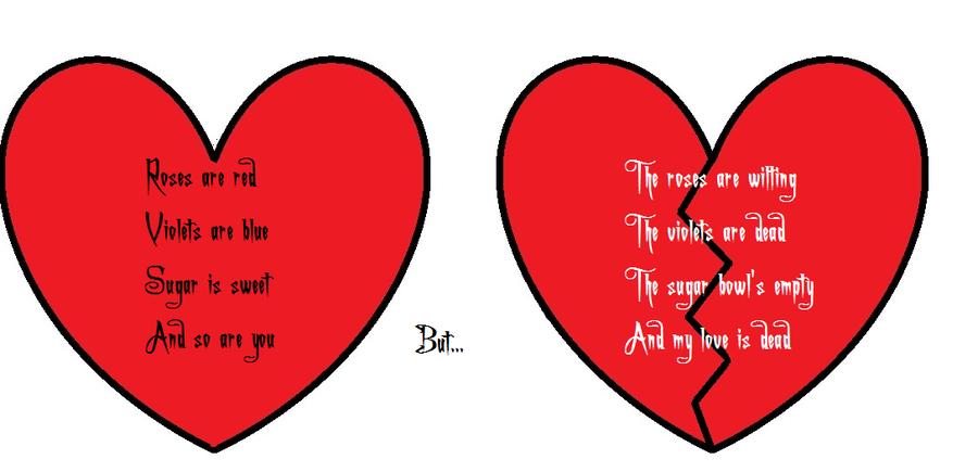 Lovelypoetry: English Heart Broken POetry