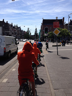 family-friendly cycling in Amsterdam