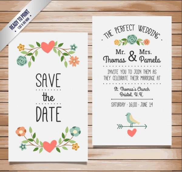 Free Desain Kartu Undangan Untuk Pernikahan