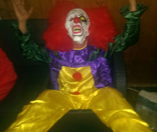 the scary psycho clown