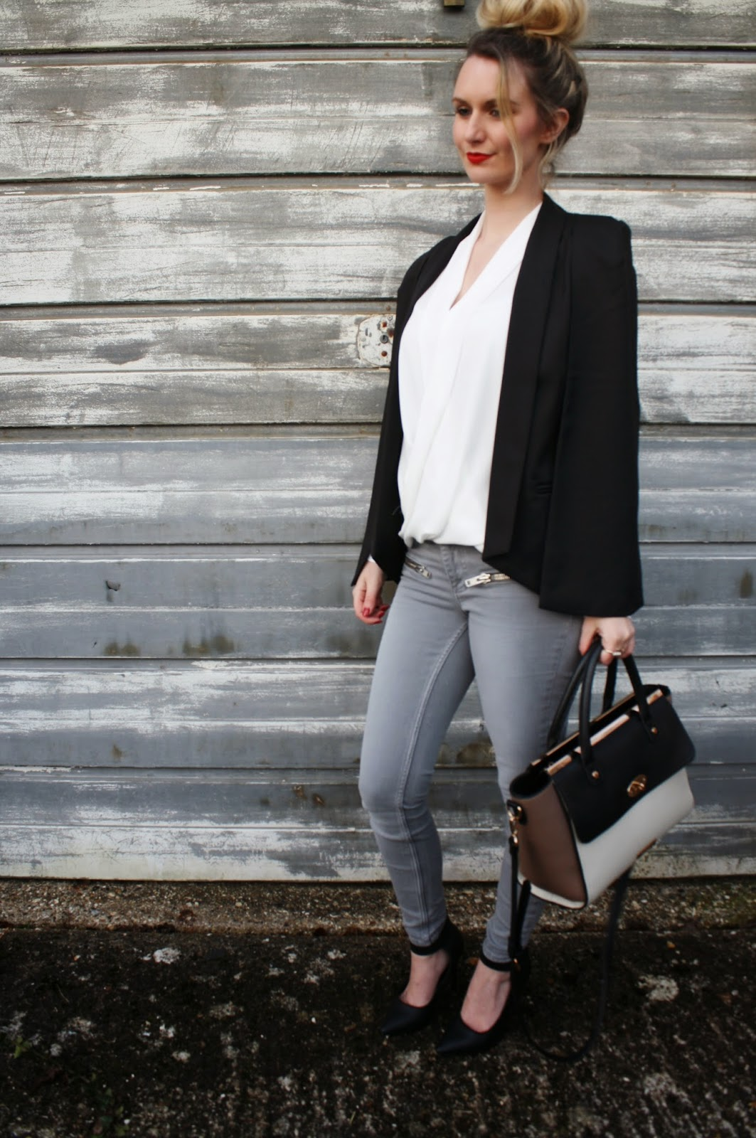 fashion blogger, mode madeleine, city chic, outfit, ootd, monochrome, ss15, trend, styling, stylist, maddie magpie