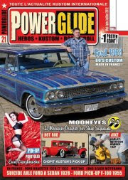 Featured in PowerGlide Magazine
