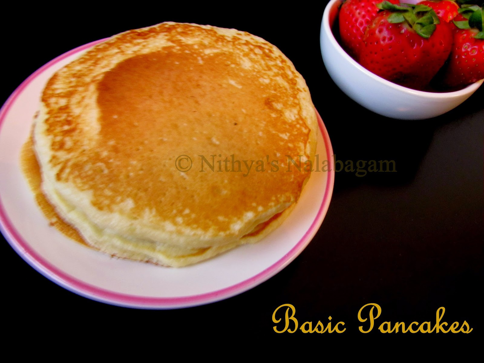 Basic Pancakes from scratch