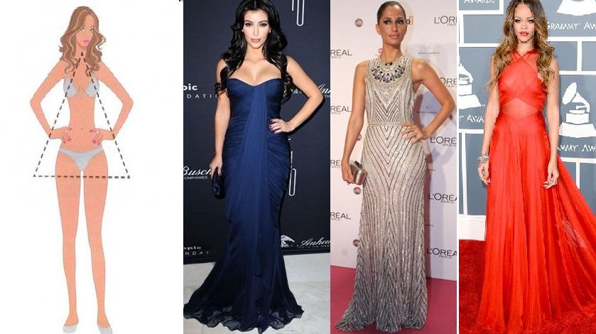 Amando Super Blog de Moda Ribeirao Preto Como escolher vestido de festa para corpo tipo triangulo