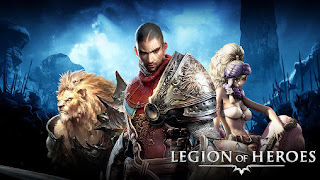 Screenshots of the Legion of heroes for Android tablet, phone.